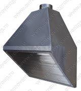 Промышленный вытяжной зонт из нержавеющей стали, пищевое производство