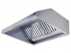 Пристенный вытяжной зонт ТИП 2 (трапецеидальный)