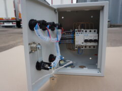 Шкаф автоматики (малый) в комплекте с погружным настраиваемым термостатом ТС2
