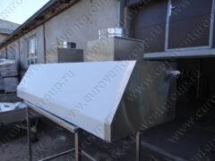 Начато серийное производство вытяжных зонтов для мангалов с гидрозатвором