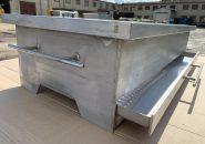 Настольный мангал из нержавеющей стали для загородного коттеджа