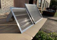 Однорядные наружные вентиляционные решетки