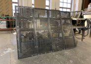 Декоративные решетки для системы отопления с порошковым покрытием