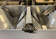 Островные приточно-вытяжные зонты ТИП 3 из нержавеющей стали толщиной 1,5 мм.