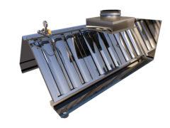 Вытяжные зонты с водяным фильтром собственной оригинальной конструкции