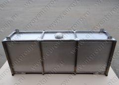 Бак для воды из нержавеющей стали для установки в кузов автомобиля