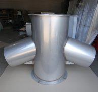 Воздуховоды и фасонные изделия для фабрики Вербилки