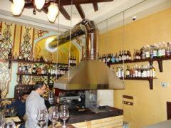 Монтаж местной системы вентиляции в ресторане Дюшес
