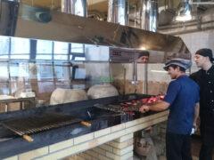Монтаж системы вентиляции в ресторане Дюшес