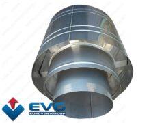 Двухконтурный дефлектор изолированный из нерж. стали
