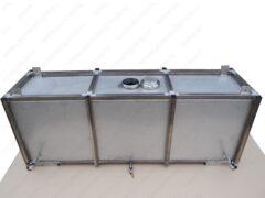 Бак для воды для установки в автомобиль 540х1620х400