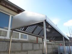 Пристенные вытяжные зонты ТИП 2