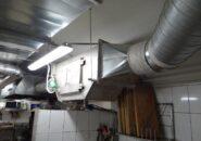 Горизонтальный гидрофильтр для воздуховода