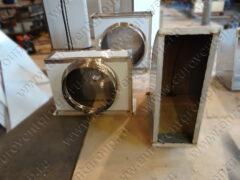 Воздуховоды и фасонные изделия прямоугольного сечения из нержавеющей стали