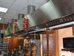 Монтаж систем вентиляции и кондиционирования в кафе