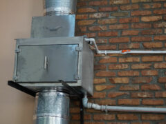 Монтаж двух вертикальных гидрофильтров серии «ПРОФИ» в ресторане «ПАССАЖ»