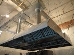 Производство и монтаж системы местной вытяжной вентиляции