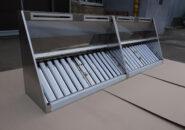 Пристенные приточно-вытяжные зонты первого типа