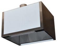 Пристенный приточно-вытяжной зонт ТИП 3 (прямоугольный)