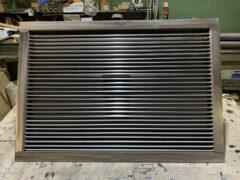 Наружные вентиляционные решетки НВР из нержавеющей стали