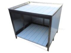 Стол для приготовления пиццы, 600х600х850 мм, нержавеющая сталь