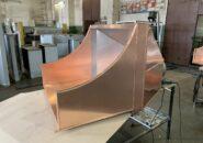 Вытяжные зонты «Версаль» из Меди для мангала и газового гриля