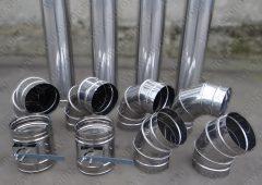 Воздуховоды и фасонные изделия из нержавеющей стали
