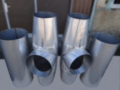 Воздуховоды и тройники из нержавеющей стали