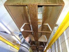 Демонтаж вентиляционного оборудования на пищевом производстве