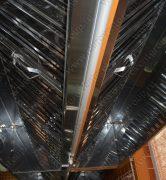 Островной зонт ТИП 3 с жироулавливающими фильтрами